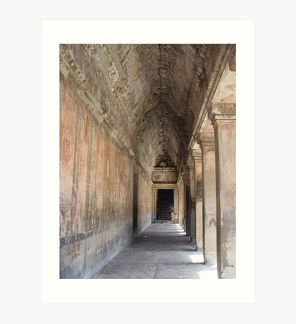 Cambodia. Angkor Wat , Siem Reap 11 Art Print