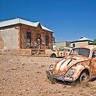 Vegemite Car, Peter Browne Gallery, Silverton, NSW. by clearviewstock