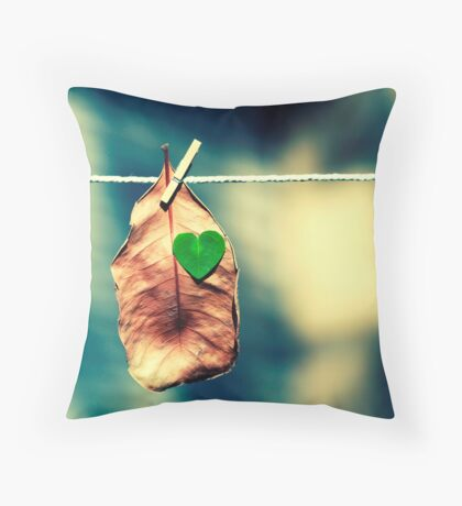 Young at heart. Throw Pillow