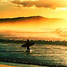Sunrise surf. by Beata  Czyzowska Young