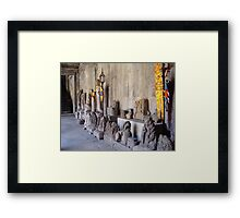 Cambodia. Angkor Wat , Siem Reap 13 Framed Print