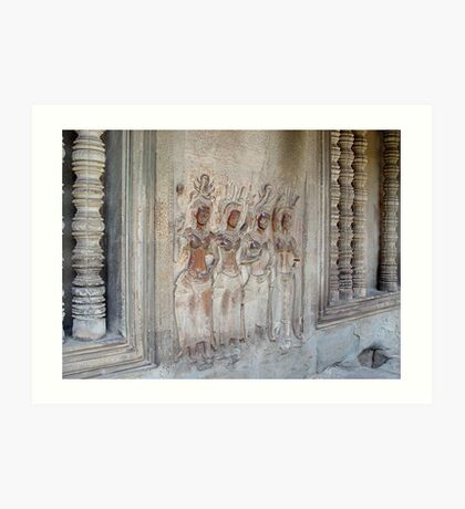 Cambodia. Angkor Wat , Siem Reap 15 Art Print
