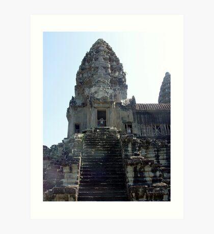Cambodia. Angkor Wat , Siem Reap 16 Art Print