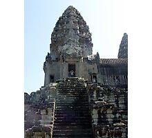 Cambodia. Angkor Wat , Siem Reap 16 Photographic Print