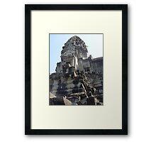 Cambodia. Angkor Wat , Siem Reap 17 Framed Print