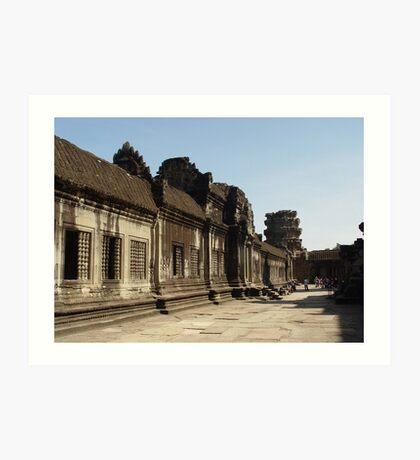 Cambodia. Angkor Wat , Siem Reap 19 Art Print