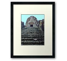 Cambodia. Angkor Wat , Siem Reap 20 Framed Print