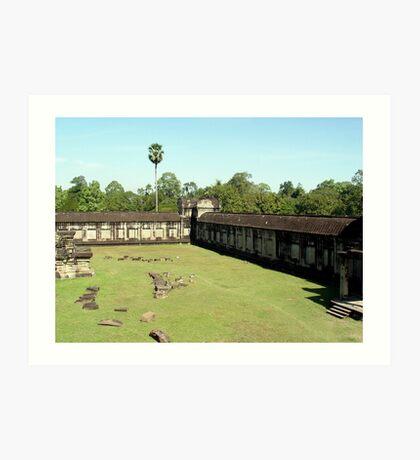 Cambodia. Angkor Wat , Siem Reap 21 Art Print
