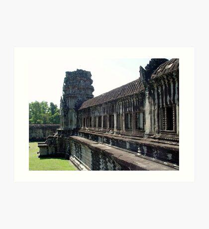 Cambodia. Angkor Wat , Siem Reap 23 Art Print