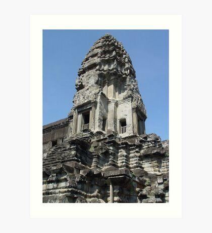 Cambodia. Angkor Wat , Siem Reap 26 Art Print