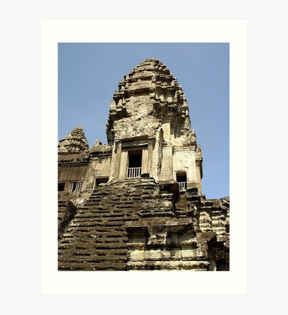 Cambodia. Angkor Wat , Siem Reap 27 Art Print