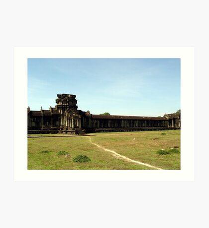 Cambodia. Angkor Wat , Siem Reap 29 Art Print