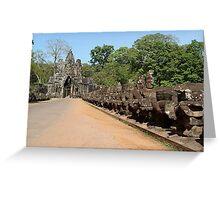 Cambodia. Angkor Wat , Siem Reap 31 Greeting Card