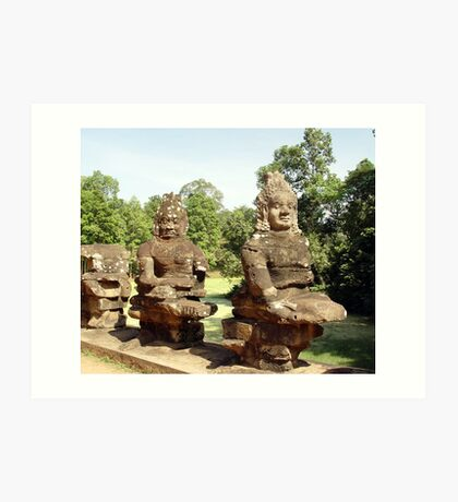 Cambodia. Angkor Wat , Siem Reap 32 Art Print