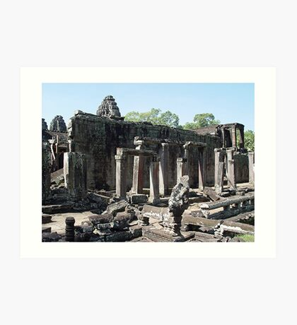Cambodia. Angkor Wat , Siem Reap 35 Art Print