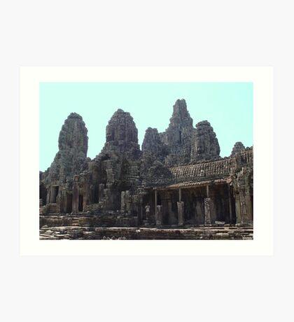 Cambodia. Angkor Wat , Siem Reap 38 Art Print
