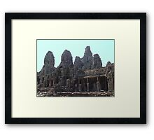 Cambodia. Angkor Wat , Siem Reap 38 Framed Print