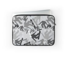 Snowboard Montage Laptop Sleeve