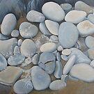 Seafoam & Pebbles by April Jarocka