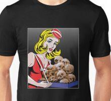 cigarette girl - skulls Unisex T-Shirt