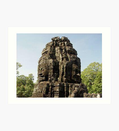 Cambodia. Angkor Wat , Siem Reap 41 Art Print