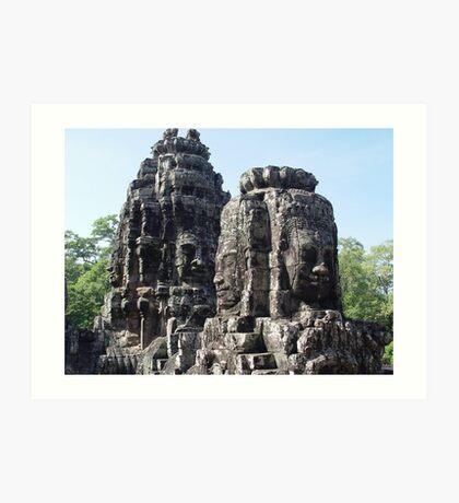 Cambodia. Angkor Wat , Siem Reap 42 Art Print