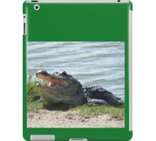 How Doth The Little Crocodile... iPad Case/Skin