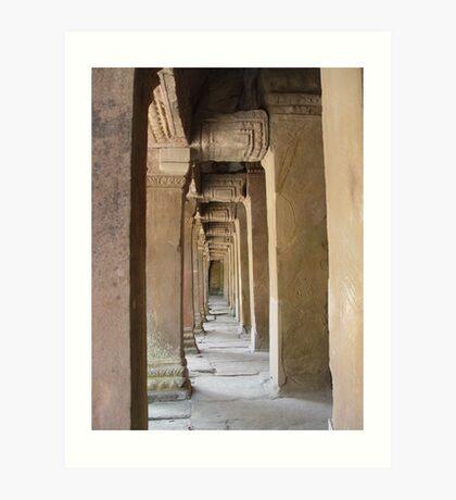 Cambodia. Angkor Wat , Siem Reap 48 Art Print