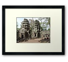 Cambodia. Angkor Wat , Siem Reap 49 Framed Print