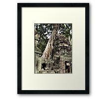 Cambodia. Angkor Wat , Siem Reap 52 Framed Print