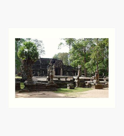 Cambodia. Angkor Wat , Siem Reap 59 Art Print