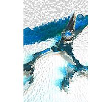 Shear Blue 2 Photographic Print