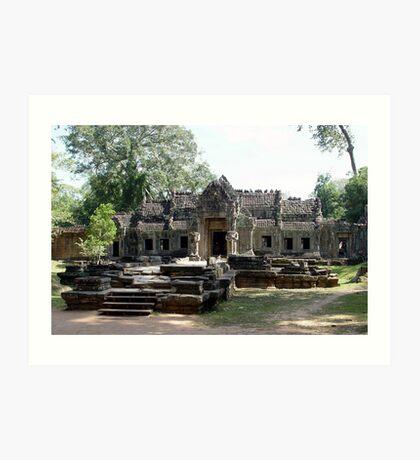 Cambodia. Angkor Wat , Siem Reap 65 Art Print