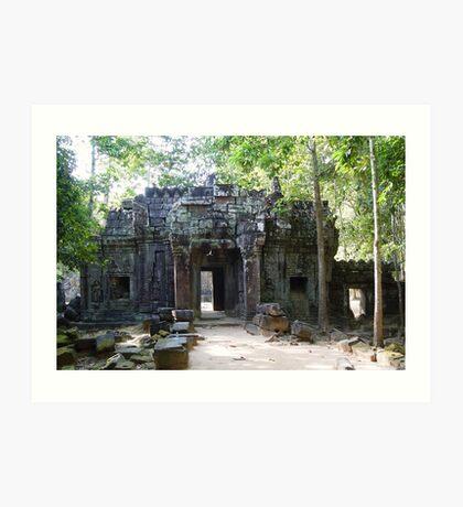 Cambodia. Angkor Wat , Siem Reap 69 Art Print