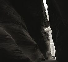 al Siq by Tony Kearney