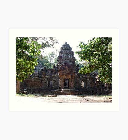 Cambodia. Angkor Wat , Siem Reap 70 Art Print