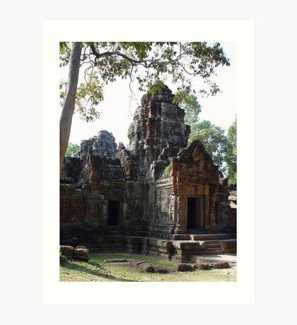 Cambodia. Angkor Wat , Siem Reap 71 Art Print