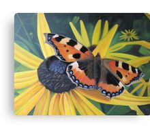 September Butterfly Canvas Print