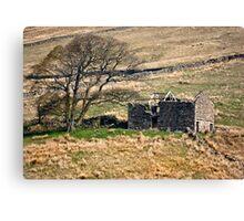 Dentdale Ruin - Cumbria Canvas Print