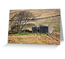 Dentdale Ruin - Cumbria Greeting Card