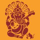 Ganesh plugged in by Kim  Lynch