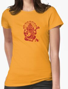 Ganesh plugged in Womens Fitted T-Shirt