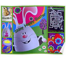 Shiny Happy Easter Poster