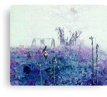 Odessa chasing Orb Canvas Print