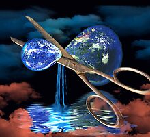 Divided Planet - For World Earth Day by SpinningAngel