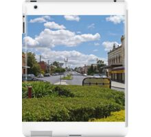 Street scene, Bathurst, New South Wales, Australia iPad Case/Skin