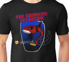 The Crimson Cetacean Unisex T-Shirt