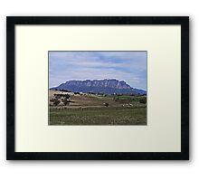 Mt Roland, Tasmania Framed Print