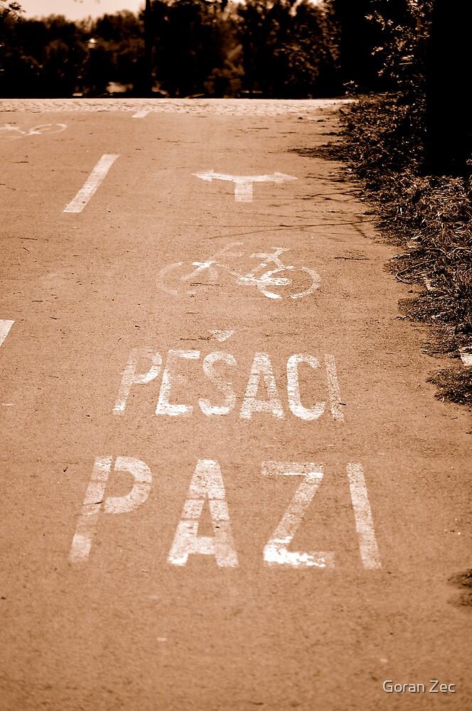 Watch out pedestrians... by Goran Zec
