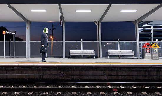 Behind The Yellow Line by Tim  Geraghty-Groves